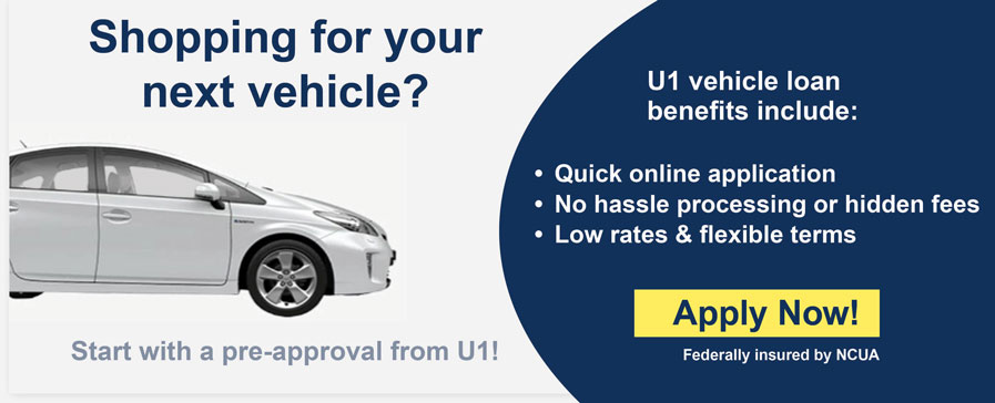 U1 Auto Loans Low Rates & Flexible Terms