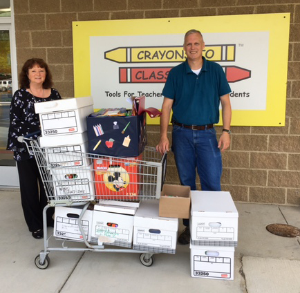 Crayons to Classrooms supply drive