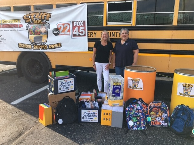 Crayons to Classrooms donations