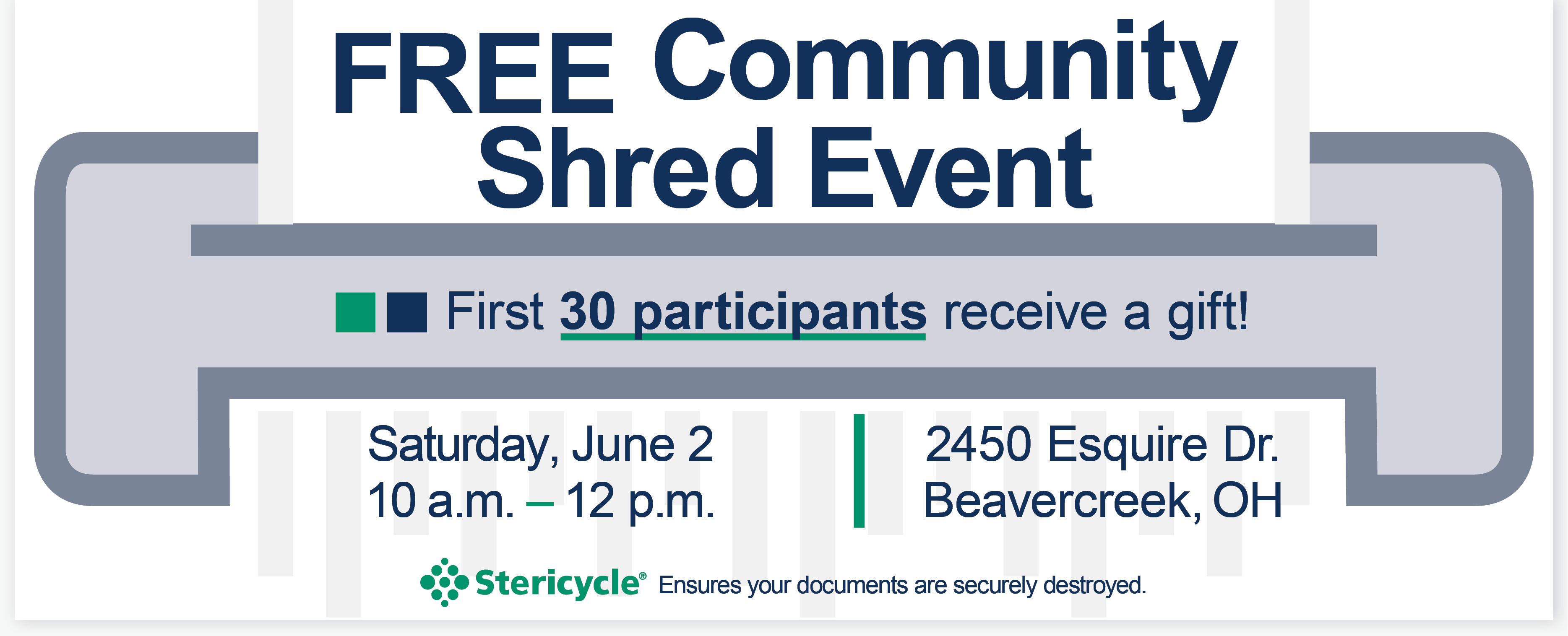 Community Shred Event